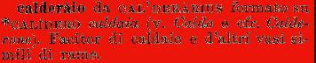 Etimologia calderaio for Cmd caldaie
