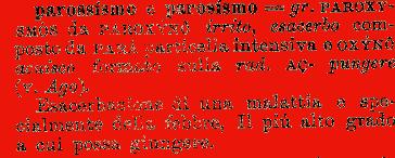 Etimologia : parossismo, parosismo;